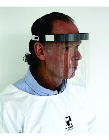 Anti contamination visor